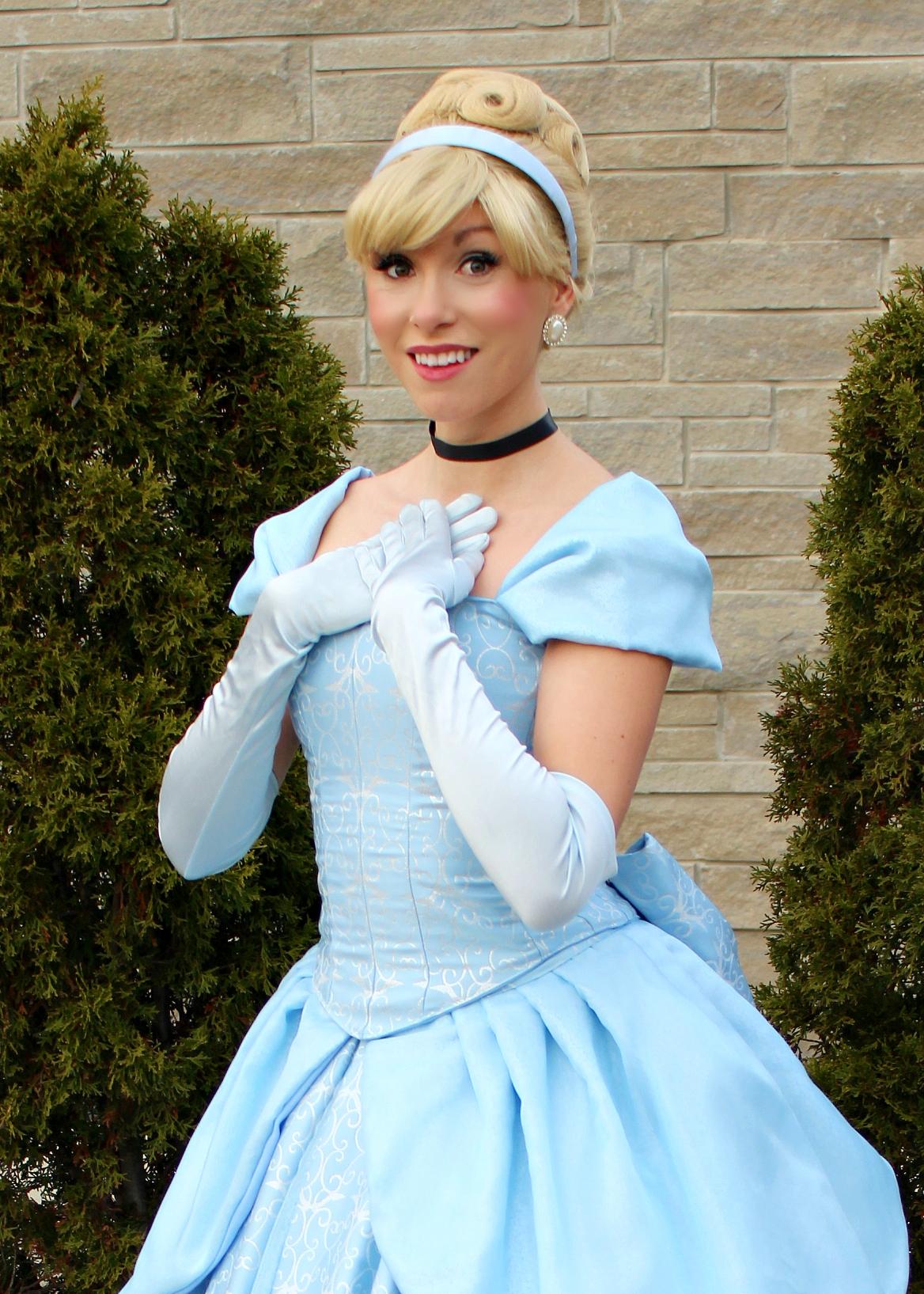 Cinderella parks once upon a princess pa
