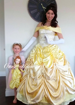 belle party - once upon a princess party