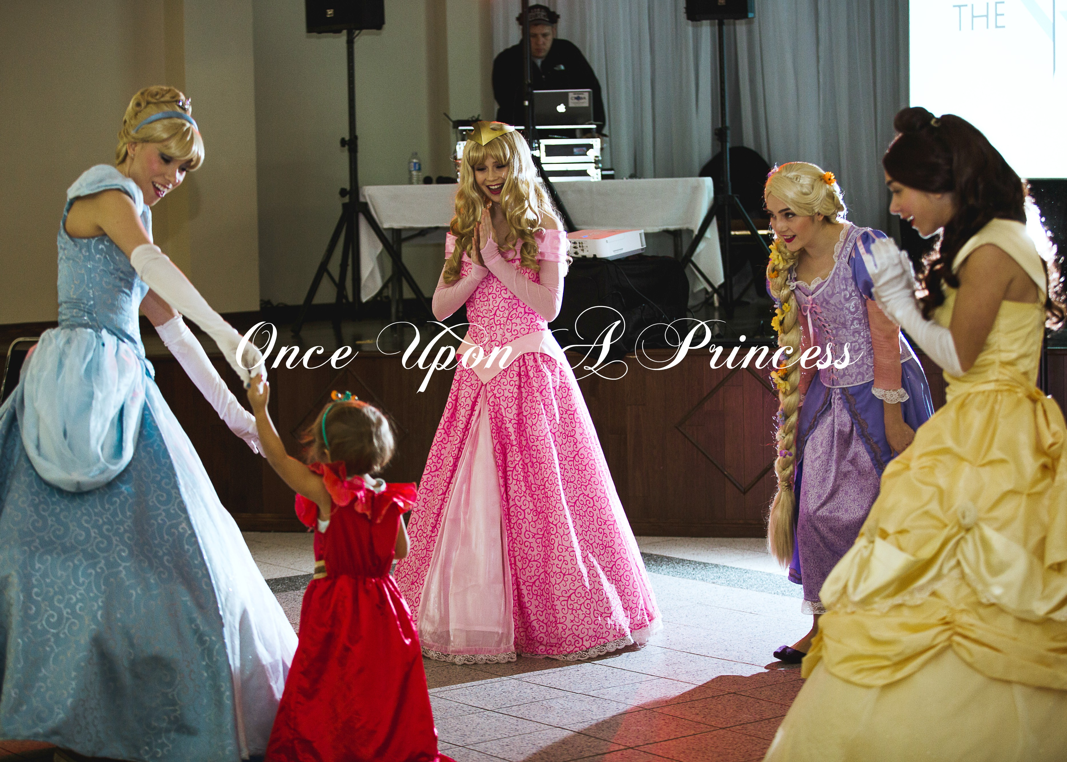 Dance Party Group Once Upon A Princess