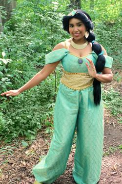 Jasmine outside once upon a princess tor