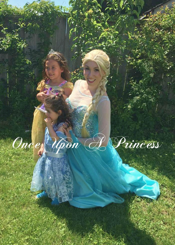 once upon a princess party kingston snow queen