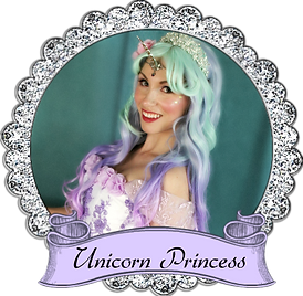 banner unicorn princcess once upon a pri