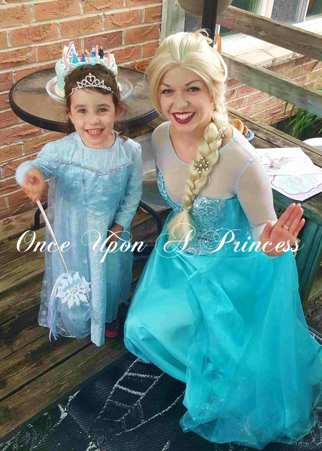 elsa party once upon a princess party ki