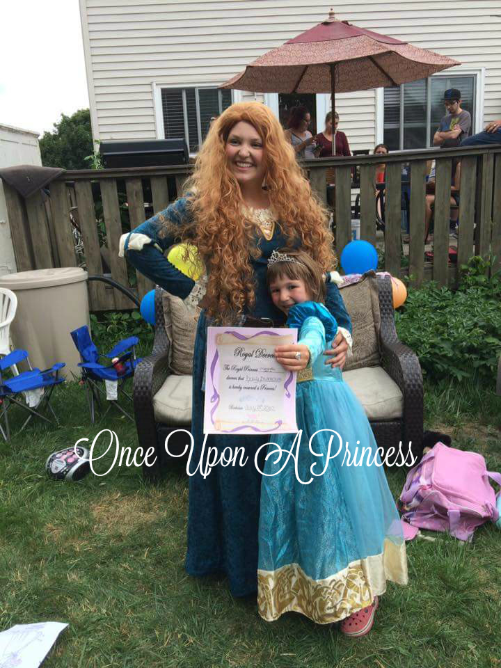 merida once upon a princess kingston