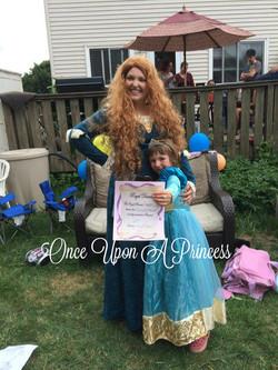 merida once upon a princess kingston