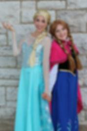 Elsa and Anna Once Upon A Princess Party Toronto