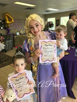 rapunzel party 33 once upon a princess kingston
