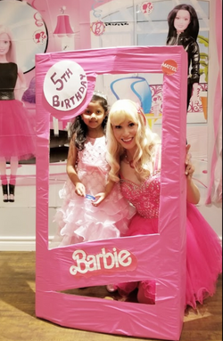 barbie party once upon a princess party