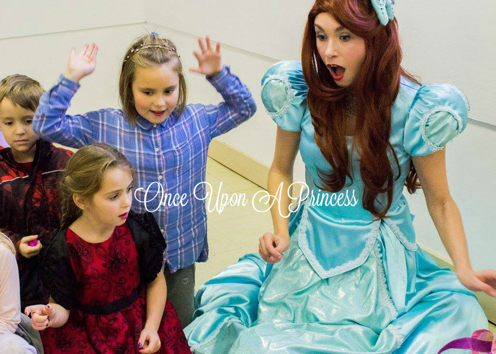 ariel princess party kingston