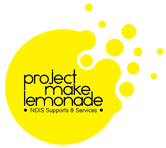 Project Make Lemonade NDIS Logo