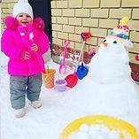 Идея лепить снег не руками пришла мне в голову, когда я еще не знала о существовании снежколепов