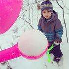 Снежколеп одна из самых нужных и приятных покупок для зимних забав!