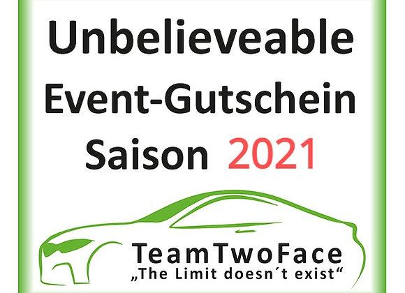 Unbelievable-Event-Gutschein für Saison 2021