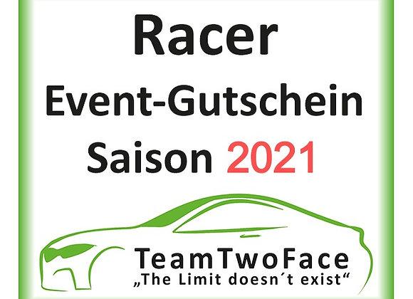 Racer-Event-Gutschein für Saison 2021