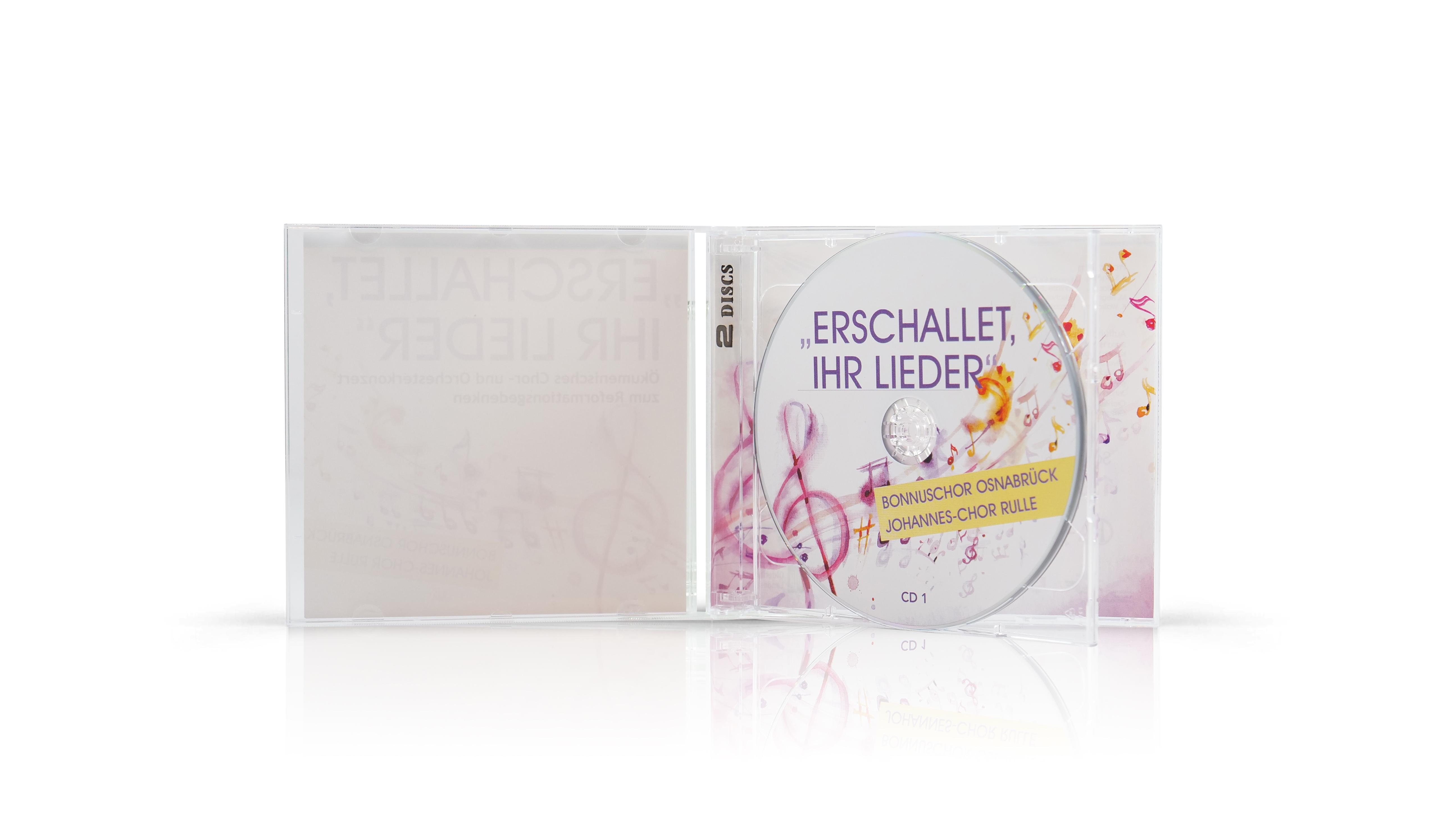 Jewelcase Doppel-CD