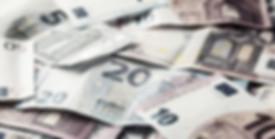 Euro banknotes. Euro money. Euro currenc