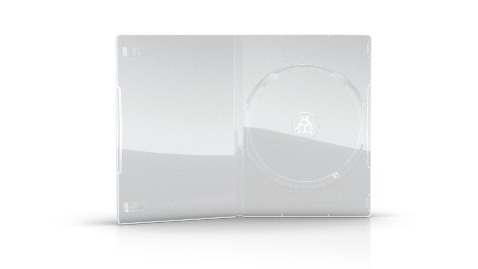 DVD-Box transparent