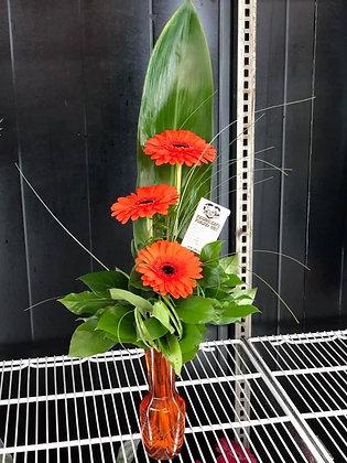 Upright Staggered Vase Arrangement