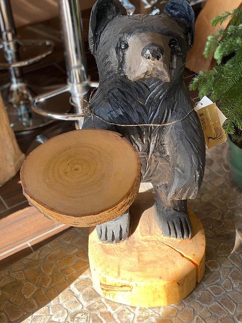 Friendly Bear Carving