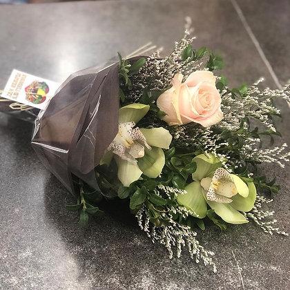 3 Flower Upright Tied Bouquet