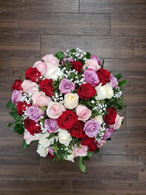 50 Mixed Roses