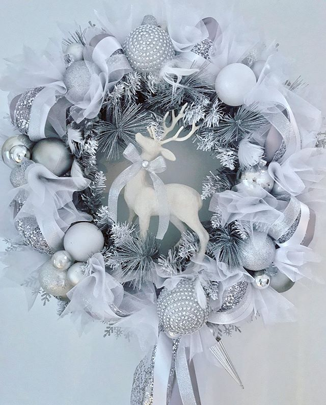 Frosted Winter White & Silver❄️ The pict