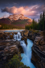 Canadian Rocky Autumn Series 3 - Athabasca Falls