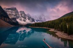 Canadian Rocky Autumn Series 5 - Moraine Lake