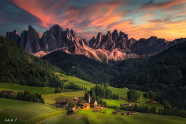 The village of Santa Maddalena