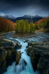 Canadian Rocky Autumn Series 1 - Sunwapta Falls