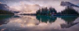 清晨中的翡翠湖 V 2