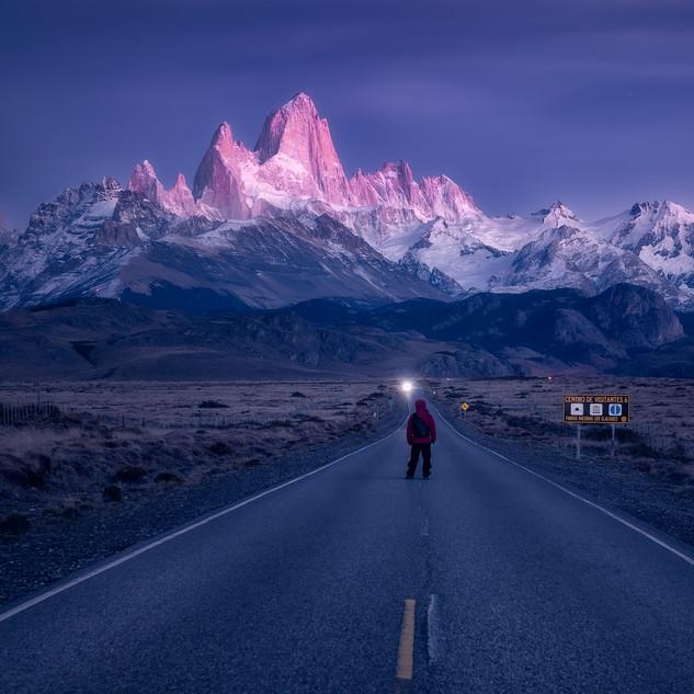 壮观的菲茨罗伊峰