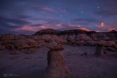 新墨西哥州的 Bisti / De-Na-Zin 荒野