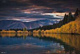 新西兰的秋色