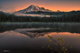 Mount Rainier in Reflection Lake