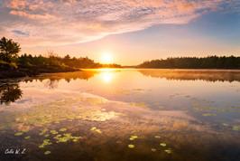 French River Sunrise