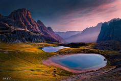 Brilliant Sapphire in Dolomite