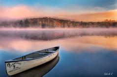 秋日里的一个梦幻清晨