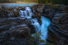 Canadian Rocky Autumn Series 2 - Athabasca Falls