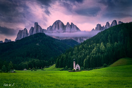 日出Church of Santa Maddalena
