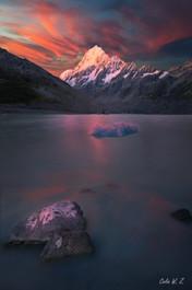 Sunset on Mt. Cook