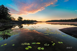 Before Sunrise on French River
