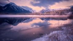 朱砂湖的清晨
