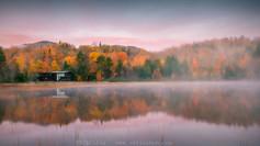 秋日里的清晨