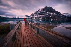 Bow Lake Morning