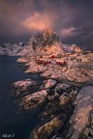 如在画中的渔村