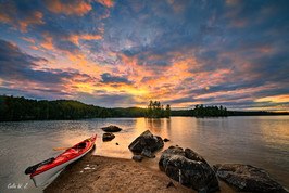 Series of Kayaking To explore the World Nature Beauty 1