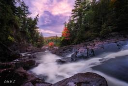 Ragged Falls in Autumn