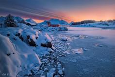 Sunrise on Ballstad