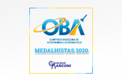 ALUNOS MEDALHISTAS NA OLIMPÍADA BRASILEIRA DE ASTRONOMIA - OBA